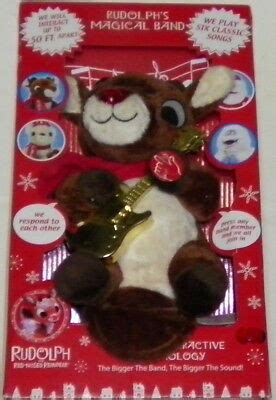 From a vcr recording circa 1989, complete broadcast of the 1964 rudolph with burl ives including commercials. RUDOLPH THE RED NOSED REINDEER Collectible Musical/Light ...