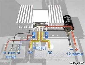 Powerful Stereo Amplifier Chip Tda 1558q