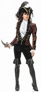 Sultry Female Pirate Lady Adult Costume - Mr. Costumes