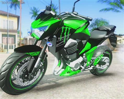 Kawasaki Z800 Modification by Gta San Andreas Kawasaki Z800 Energy Mod
