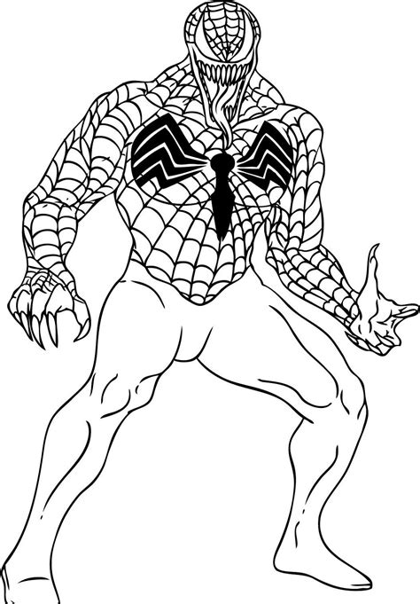 spiderman coloring pages  boys educative printable