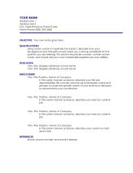 pages 08 resume template ii free iwork templates