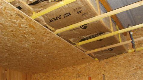isoler un garage pour faire une chambre isolation plafond garage on vous donne des conseils dans