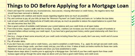 What You Need To Do Prior To Applying For A Mortgage Loan