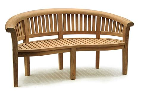 Wooden Decorative Bench by Curved Wooden Garden Bench Search Benches