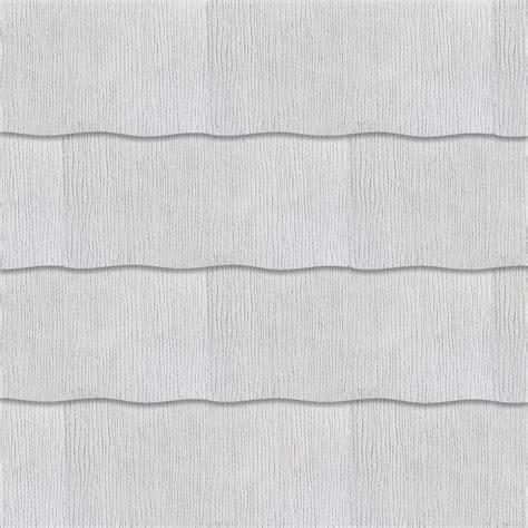 gaf weatherside purity wavy 12 in x 24 in fiber cement
