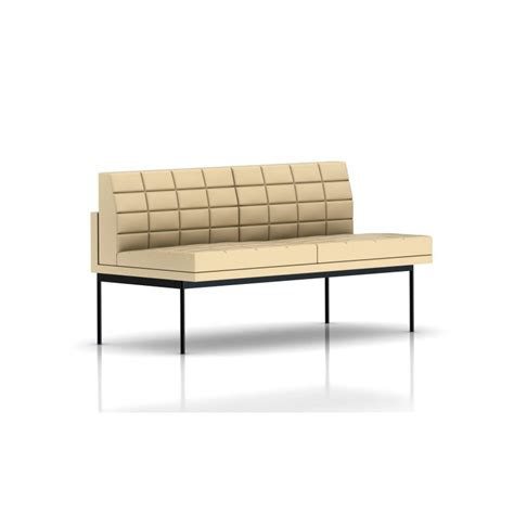 canapé sans accoudoir canape cuir 2 places sans accoudoirs
