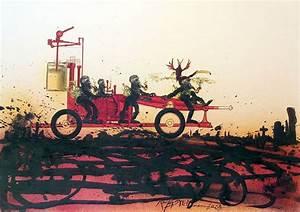 Ralph Steadman's Illustrations from Ray Bradbury's ...