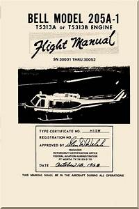 Bell Helicopter 205 A-1 Flight Manual