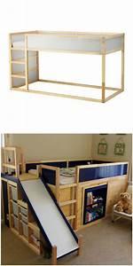 Kura Bett Ikea : 47 besten ikea hack trofast regal bilder auf pinterest kinderzimmer diy fotokabine und haus ~ Frokenaadalensverden.com Haus und Dekorationen