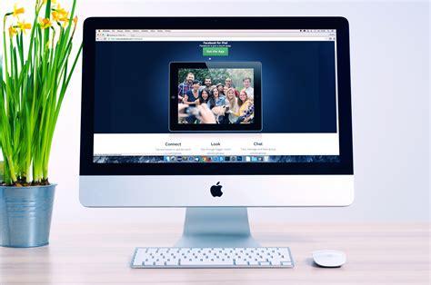ecran ordinateur de bureau images gratuites pomme la technologie la publicité