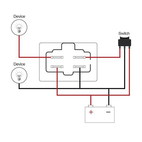 spst     relay wiring pin  diagram obd
