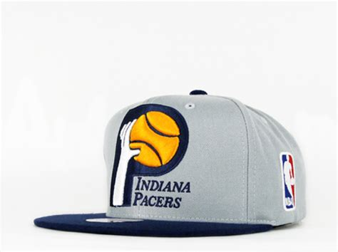 indiana pacers colors indiana pacers xl logo gray team colors snapback