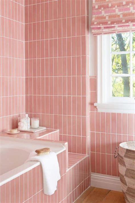 designer pink bathrooms  history  pink bathrooms