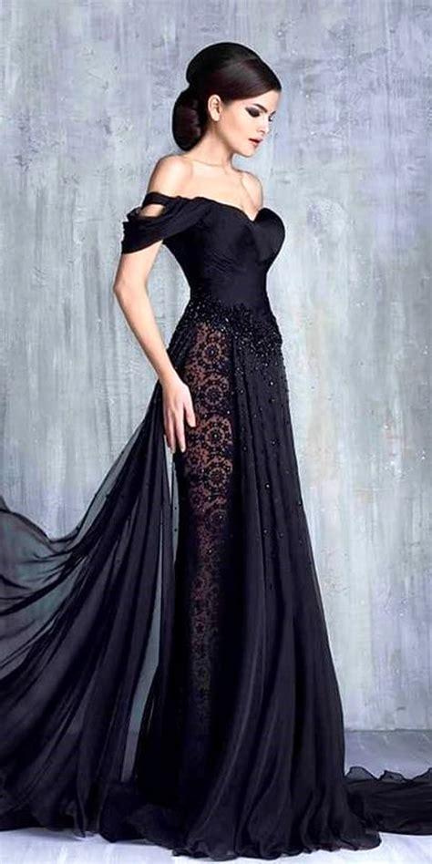 black wedding dresses  edgy elegance dresses