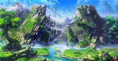 Fantasy Landscapes Rpg Archeage Landscape Anime Mmo
