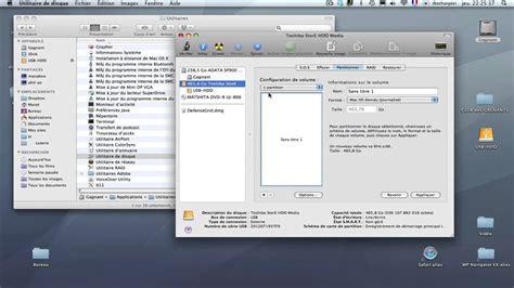comment formater un disque dur externe formater disque dur pour mac et pc sous mac osx