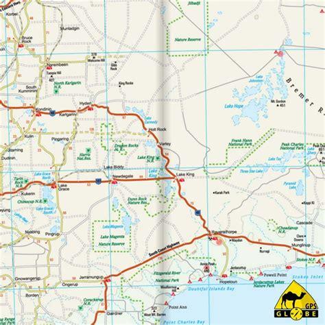 Carte De Touristique Ouest by Gps Globe Carte Touristique De L Ouest De L Australie