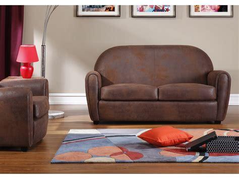canapé 3 places noir canapé et fauteuil en microfibre vieilli victory ii
