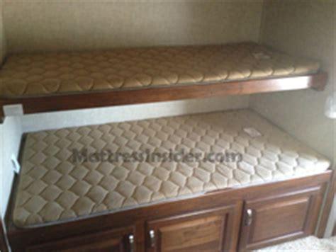 rv bunk mattresses camper bunk mattress replacement