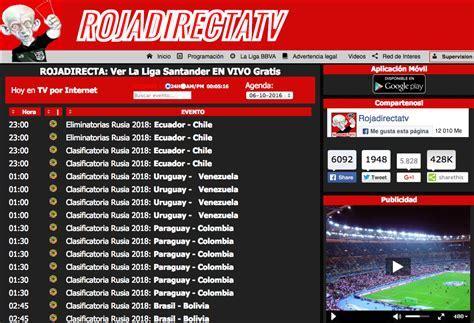 ⚽️ | blog virtual con el mejor contenido para futboleros. Rojadirecta Partidos Por Internet - SEONegativo.com