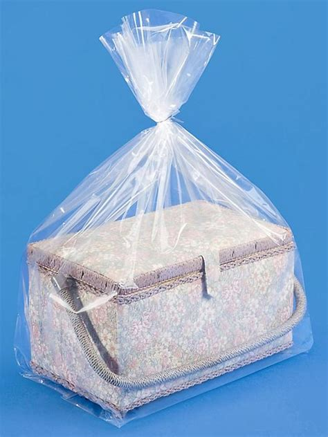 mil gusseted poly bags   uline
