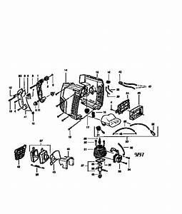 Craftsman Poulan Gas Blower Parts