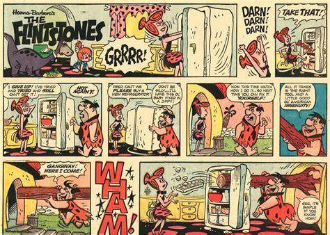 The Flintstones Sunday Comics