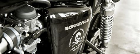Rock'n'ride, Una Bonneville Bobber