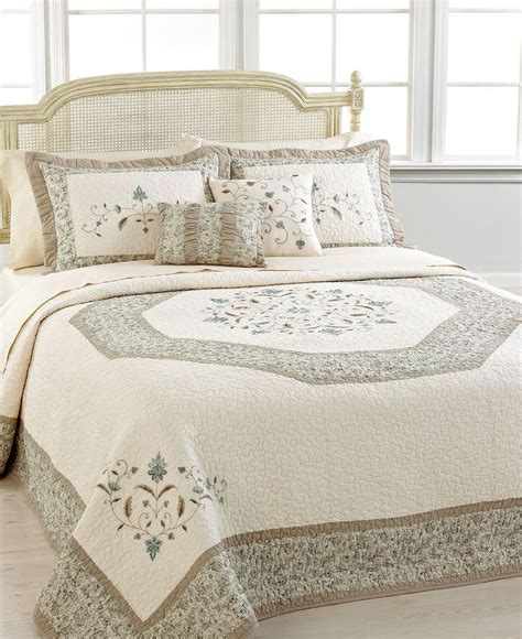 nostalgia home quilts nostalgia home bedding agnes bedspreads quilts bedspreads bed bath macy s 240 spread