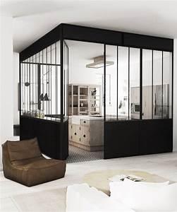 Deco Industrielle Atelier : une verri re atelier dans la maison floriane lemari ~ Teatrodelosmanantiales.com Idées de Décoration
