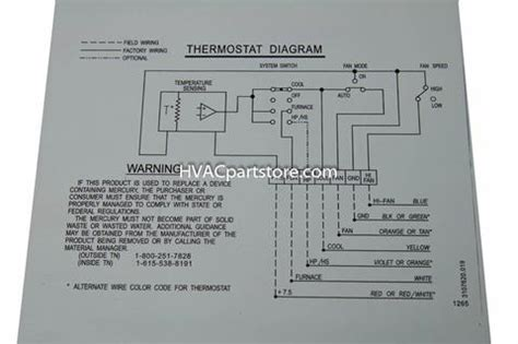 Duo Therm Thermostat Wiring Diagram 3107612 by 3106995 032 Dometic Analog Rv Thermostat Hvacpartstore