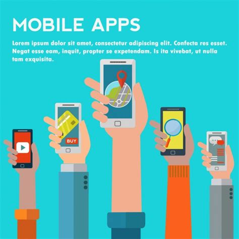 Free Apps For Mobile by Mobile Apps Background Design Vector Free