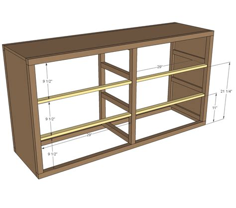 woodworking plans double dresser plans  plans