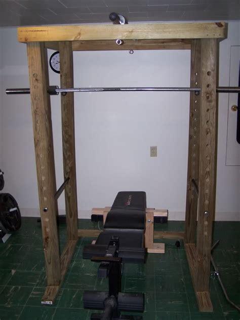 diy power rack 4x4 power rack