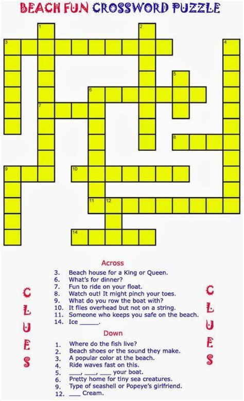 printable crossword puzzles  printable