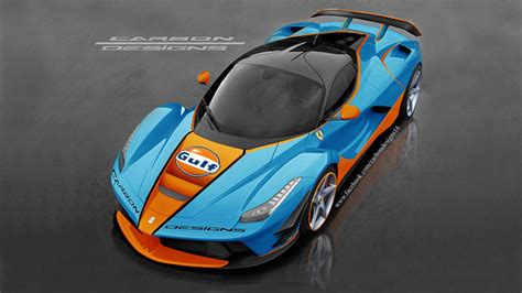 This is a LaFerrari in Gulf livery | Top Gear