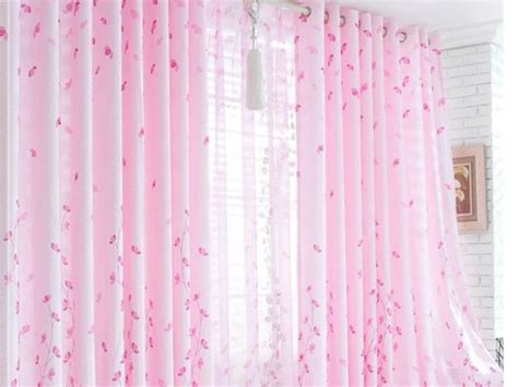 sheer lace curtain pink curtain design for home windows 4 home ideas
