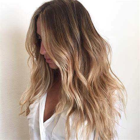 balayage clip  hair extensions golden brown  light