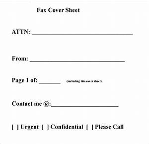 sample fax cover sheet 27 free documents in pdf word With fax cover letter examples pdf