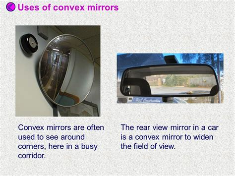 Types Of Mirror When We Draw A Ray Diagram We Represent A