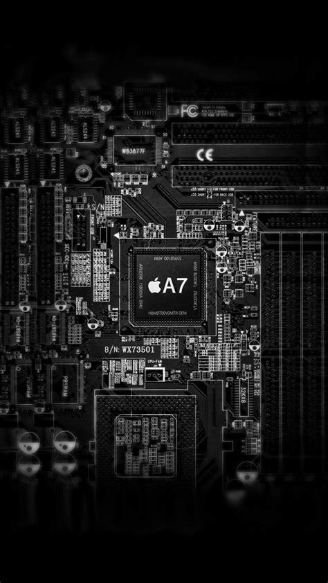 Apple A7 Inside iPhone 6 / 6 Plus and iPhone 5/4 Wallpapers