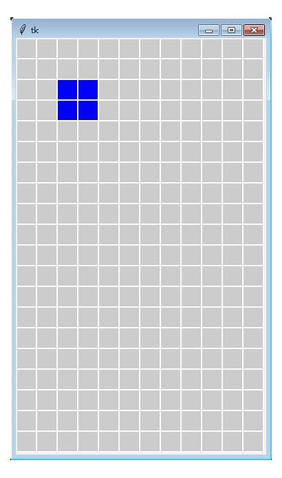 Tetris Basic Tkinter Python Version Realizes Programmer