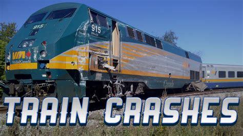 Train Crash Compilation 2014