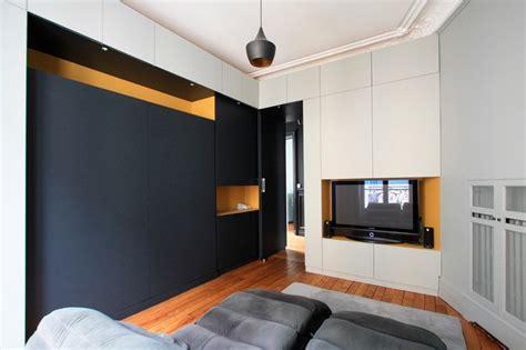 chambre des architectes appartement haussmannien contemporain chambre