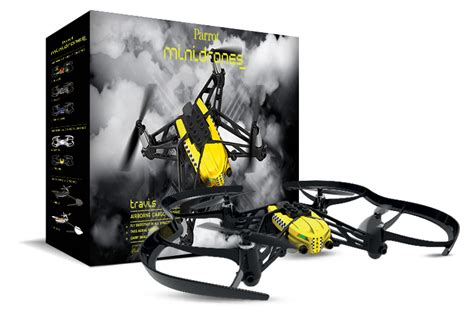 parrot airborne cargo drone travis packaging drohnen multicopter quadrocopter