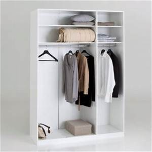 Dressing 150 Cm : dressing portes battantes larg 150 h 220 cm build ~ Teatrodelosmanantiales.com Idées de Décoration