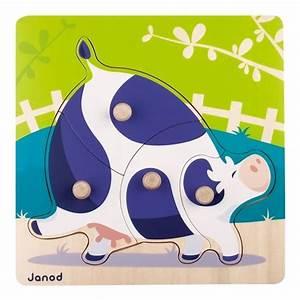 Puzzle En Bois Bébé : puzzle en bois pour b b puzzle vache janod puzzle premier ge ~ Dode.kayakingforconservation.com Idées de Décoration