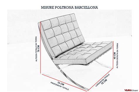 Poltrona Barcellona In Pelle Nera Con Struttura In Acciaio