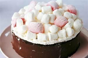 Chocolate and marshmallow birthday cake recipe - goodtoknow